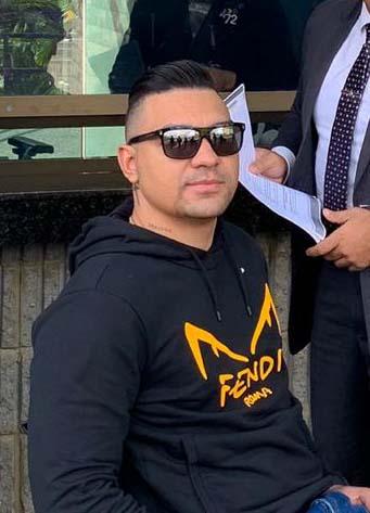 """Narcotraficante Elkin López, """"Doble Rueda"""""""