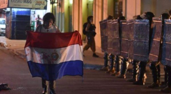 protestas Paraguay