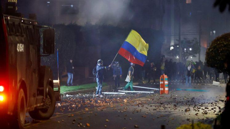 represión policial colombia