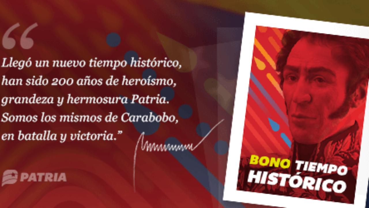 Atención!: Inició entrega del bono Tiempo histórico | Red Radio ®