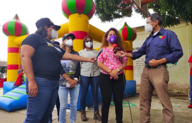 desplegado en La Guaira