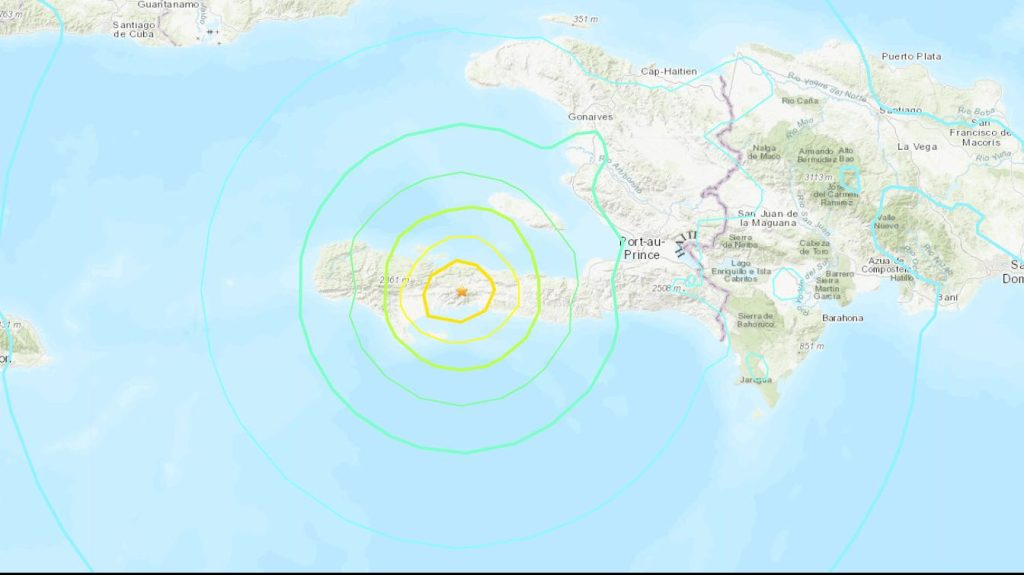 earthquake in