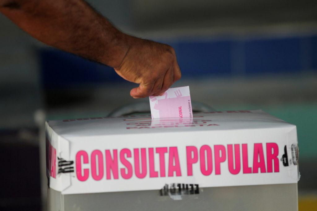 Consulta popular: democracia mexicana da el primer paso contra impunidad de expresidentes